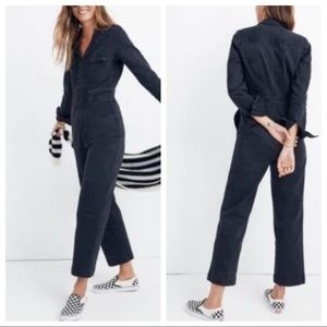 Madewell Garment Dyed Slim Coverall jumpsuit